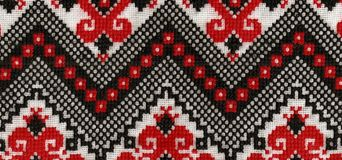 Ukrainian wave. Texture design.Ukrainian Folk design to decoration your interior stock photography