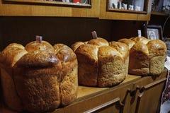 Ukrainian wedding bread. Traditional symbol on wedding Royalty Free Stock Images