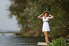 Ukrainian woman Royalty Free Stock Images