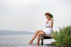 Ukrainian woman Stock Photos