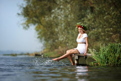 Ukrainian woman Stock Image