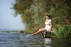 Ukrainian woman Stock Image