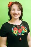 Ukrainian woman Royalty Free Stock Photo