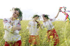 Ukrainian women Stock Images