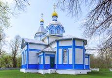 Ukrainian wooden church built in 1905. Rosishky village Stock Image