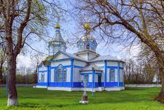 Ukrainian wooden church built in 1905. Rosishky village Stock Images