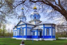 Ukrainian wooden church built in 1905. Rosishky village Royalty Free Stock Photo