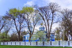 Ukrainian wooden church built in 1905. Rosishky village Royalty Free Stock Photos