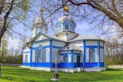 Ukrainian wooden church built in 1905. Rosishky village Royalty Free Stock Image