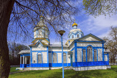 Ukrainian wooden church built in 1905. Rosishky village Royalty Free Stock Photography