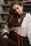 Ukrainian Young Girl Stock Photography