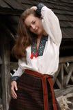 Ukrainian Young Girl Stock Photo