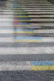 Ukrainian zebra crossing Stock Photography
