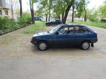 ` Ukrainien du ` ZAZ Tavria de voiture du ` s de personnes Photo stock