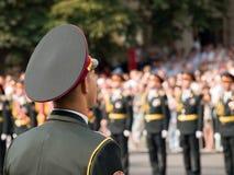 ukraininan的战士 免版税库存照片