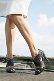 Ukrainische Beine Stockfoto