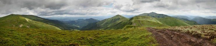 Ukrainische Berge Lizenzfreie Stockfotos