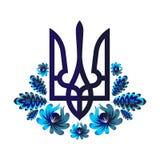 Ukrainische Blumen Stockbild