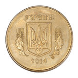 25 ukrainische Cents Stockfotografie
