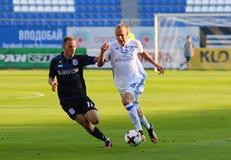 Ukrainische erste Liga: Dynamo Kyiv gegen Chornomorets lizenzfreie stockfotografie