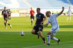 Ukrainische erste Liga: Dynamo Kyiv gegen Chornomorets stockfotos