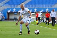 Ukrainische erste Liga: Dynamo Kyiv gegen Chornomorets lizenzfreies stockbild
