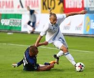 Ukrainische erste Liga: Dynamo Kyiv gegen Chornomorets stockbilder