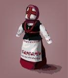 Ukrainische ethnische Puppe Lizenzfreies Stockbild