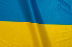 Ukrainische Flagge Lizenzfreies Stockbild