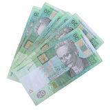 Ukrainische hryvnia Währung Stockfoto
