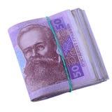 Ukrainische hryvnia Währung Stockbild