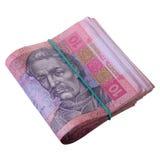 Ukrainische hryvnia Währung Lizenzfreie Stockfotografie
