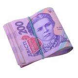 Ukrainische hryvnia Währung Lizenzfreie Stockfotos
