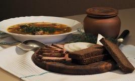 Ukrainische Küche Stockfotografie