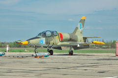Ukrainische Luftwaffe Aero L-39 Albatros Stockbild