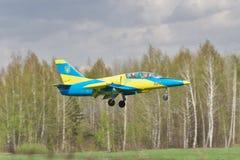 Ukrainische Luftwaffe Aero L-39 Albatros Lizenzfreie Stockbilder