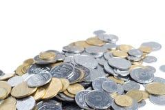 Ukrainische Münzen Stockfotos