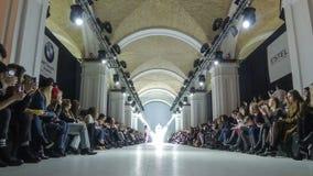 Ukrainische Mode-Woche FW18-19: Sammlung durch ANNAMUZA stock video