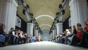 Ukrainische Mode-Woche FW18-19: Sammlung durch Kir Khartley stock footage