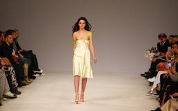 39. ukrainische Mode-Woche in Kyiv, Ukraine Lizenzfreie Stockfotos
