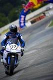 Ukrainische Motorrad-Meisterschaft Lizenzfreies Stockfoto