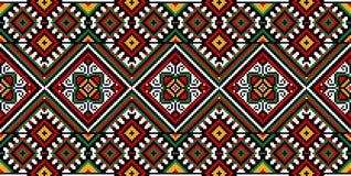 Ukrainische Stickerei Stockbild