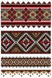 Ukrainische Stickereiverzierung Lizenzfreie Stockbilder