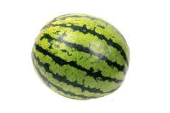 Ukrainische Wassermelone über Weiß Stockbild