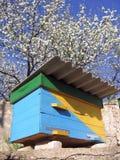 Ukrainischer Bienenstock stockfotos