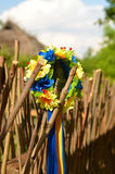 Ukrainischer Wreath Lizenzfreies Stockbild