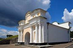 Ukrainisches barockes Tor Lizenzfreies Stockfoto