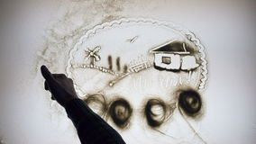 Ukrainisches Dorf stock video