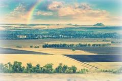 Ukrainisches field_v3 Stockbild