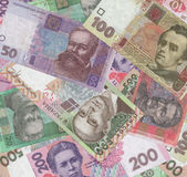 Ukrainisches Geld Stockfoto